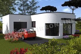 plan de maison contemporaine 3 chambres ronila 4