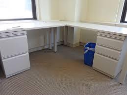 cute white l shaped desk