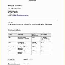 Mba Finance Fresher Resume Sample Doc New 54 Lovely Mba Student