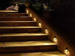 outdoor stair lighting simple 4 step ideas light solar deck lights