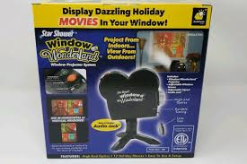 As Seen On Tv Window Wonderland Christmas Decoration Light Projector Star Shower Window Wonderland Projector As Seen On Tv Christmas Halloween New