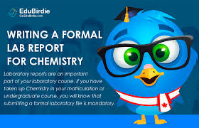 How To Write A Formal Lab Report For Chemistry Tips For Writing A Formal Lab Report For Chemistry Ca Edubirdie Com