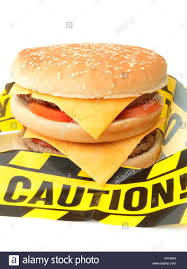 unhealthy fast food. Modren Fast Unhealthy Fast Food Caution  Stock Image Throughout Fast Food T