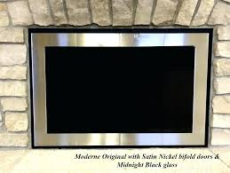 modern fireplace doors sentry contemporary fireplace glass