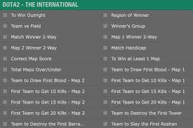 ti6 betting odds dota 2 the international 2016 bets odds