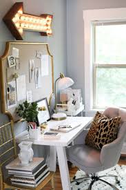 blue white office space. white and gold more blue office space