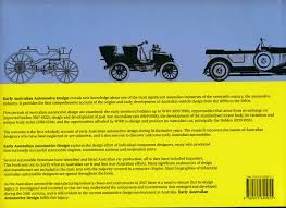 Automotive Design Australia Early Australian Automotive Design The First Fifty Years