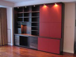 home office wall cabinets. Custom Made Modern Walnut Home Office Cabinet Wall Cabinets