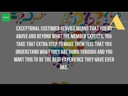 Customer Service Experience Definition What Is The Definition Of Exceptional Customer Service Youtube