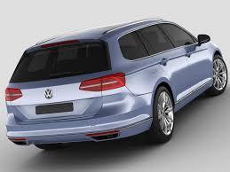 VW Passat Variant 2015 3D model   CGTrader