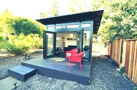outside office shed. Outdoor Office Shed Pod Curved Garden Room Modern Outside Home . N