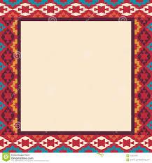 Navajo border designs Clip Art Colorful Border In Navajo Style Vector Illustration Dreamstimecom Colorful Border In Navajo Style Vector Illustration Stock Vector