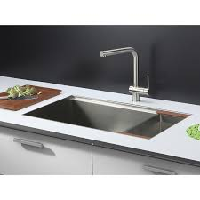 undermount rectangular bathroom sink ruvati rvh8300 undermount ledge 16 gauge 32 kitchen sink single