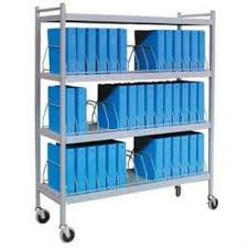 Medical Chart Carts With Vertical Racks Medical Chart Carts With Vertical Racks Large