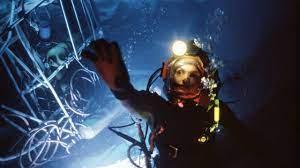 Megszakad az összeköttetés az egyik amerikai nukleáris tengeralattjáróval. The Abyss 1989 Backdrops The Movie Database Tmdb