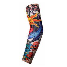 тело Arm чулки тату для мужчин женщины рука ноги рукава наклейки временные