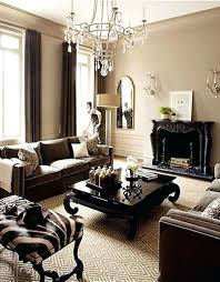 simple decoration brown paint living room dark couch ideas light bedroom colors walls
