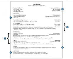 Freshman College Student Resume Fascinating Resume For College Freshmen 48 Ifest