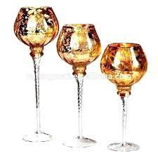 gold mercury candle holders mercury candle holder set gold mercury glass gold mercury glass goblet holiday