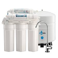 Under Sink Filter Systems Amazoncom Aqualutio Premium 5 Stage Reverse Osmosis Filtration