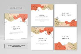 Abstract Trendy Square Cover Design Graphic By Abworks Creative Fabrica
