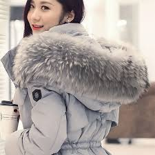 2016 new women clothes winter jacket large size very stylish rac fur collar warm coats women thicken long winter down jx192