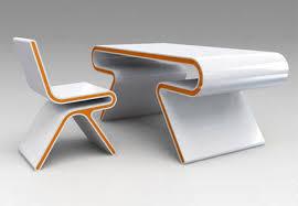 Ultramodern Desk Chair Design Set