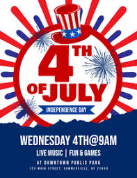 Customize 1 600 4th Of July Templates Postermywall