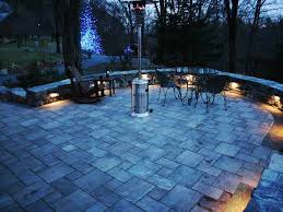 artistic outdoor lighting. landscape lighting installed as we built a natural stone wall in southborough ma artistic outdoor g