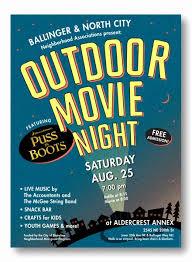 Free Movie Night Flyer Templates Movie Night Flyer Template Lovely Outdoor Movie Night Flyer