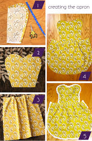 DIY Apron - easy sewing project - Darling Stuff not a mans shirt but love  the pattern FOR my mens shirts aprons