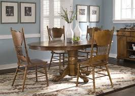 antique oak oval dining table. full image for nostalgia oval sunburst pedestal table 5 piece dining set in medium oak finish antique s