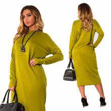 Popular 2018 <b>Plus Size</b> Long <b>Dress</b> 5xl 6xl <b>Autumn</b>-Buy Cheap ...