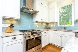 backsplash tile white cabinets blue tile white cabinets subway tile backsplash off white cabinets
