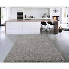 cozy collection grey 5 ft x 7 ft indoor area rug