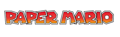 Image - Paper Mario Logo.png | Nintendo | FANDOM powered by Wikia