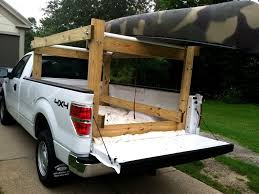 Download Homemade Canoe Rack For Pickup Truck | paroquiasces.com