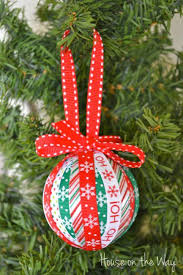Ribbon Ornaments Christmas Ribbon Ornament Craft For The Home Christmas Crafts