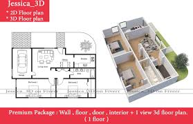 create 3d floor plan quick and