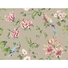 york wallcoverings casabella ii cloud grey tropical fl wallpaper hover to zoom