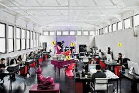 advertising agency office. plain office a latex sofa and ronald mcdonald head make for classickitschy  mashup at this former art studio speakeasy morgue turned ad agency in advertising agency office n