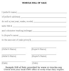 Generic Bill Of Sale Form Generic Auto Bill Of Sale Form Rome Fontanacountryinn Com