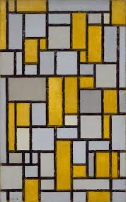 piet mondrian composition with grid 1 1918