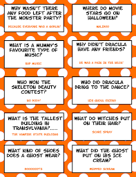 Small Picture Free Printable Halloween Jokes For Kids Halloween Lunch Box