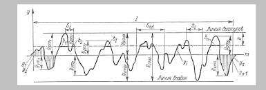 Реферат Шероховатость поверхности com Банк рефератов  В продольном направлении tp позволяет судить о фактической площади контакта при контактировании шероховатых поверхностей на заданном уровне сечения р