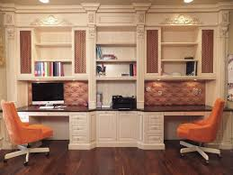 custom home office design. Exellent Home Image Of Decorative Custom Office Desk Throughout Home Design V