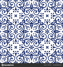 Arabesque Pattern Delectable Blue Arabesque Pattern Stock Vector © Amovitania 48