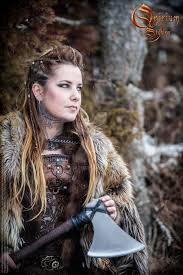 Viking Hairstyle Female viking inspired female set photoshoot 2017 2 by deakath on 8908 by wearticles.com
