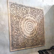 mandala carved wood wall art panel siam sawadee regarding stylish house mandala wall decor decor on wood mandala wall art large with mandala carved wood wall art panel siam sawadee regarding stylish