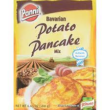 Fold in the dry ingredients, mixing until just combined. Panni Bavarian Potato Pancake Mix Case Of 24 6 63 Oz Walmart Com Walmart Com